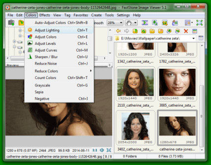Faststone image viewer: Edit digital photos