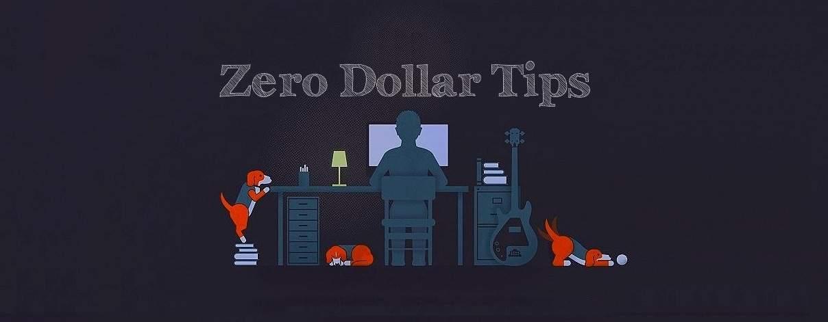 zero dollar tips
