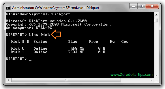 install windows 7 using pen drive