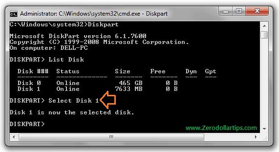 install windows 8 using pen drive