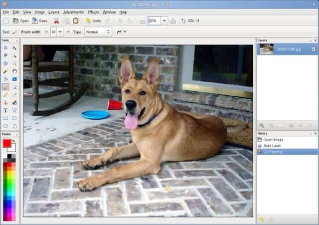 pinta image editor