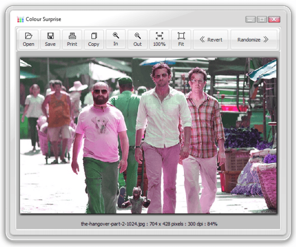 how to edit images using colour surprise
