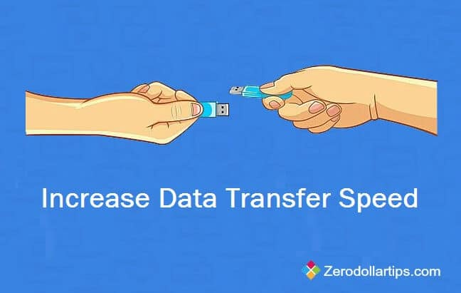 Increase Data Transfer Speed of Pen Drive