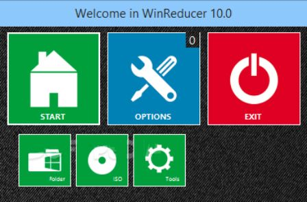 how to customize windows 10 installation with winreducer