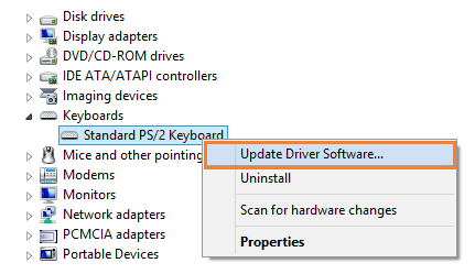 how to update driver software