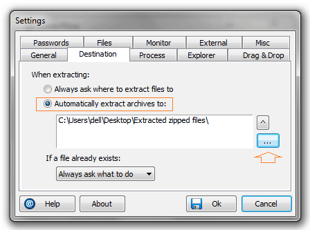 extract multiple archives
