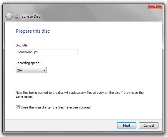 free cd burning software