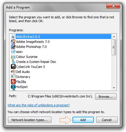 how to block programs