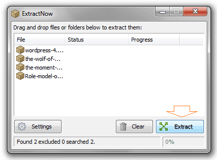 how to extract a zip file