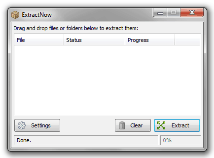 how to extract multiple zip files at once in windows 7 or windows 8