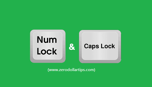 how to fix: stuck caps lock and num lock keys in windows 10
