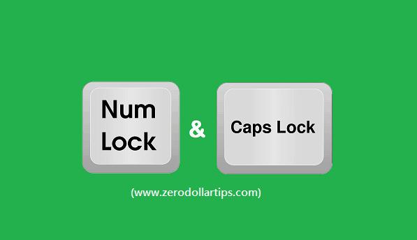 How to Fix: Stuck Caps Lock and Num Lock Keys in Windows 10
