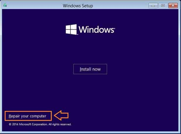 open command prompt at boot