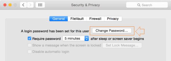 reset admin password