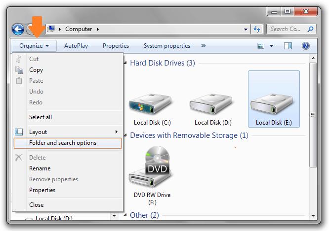 system volume information folder