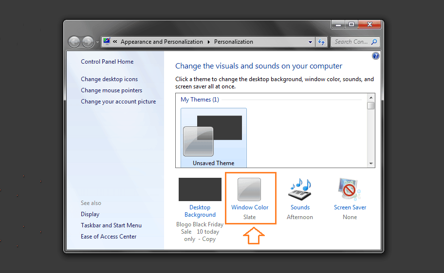 change desktop icon spacing