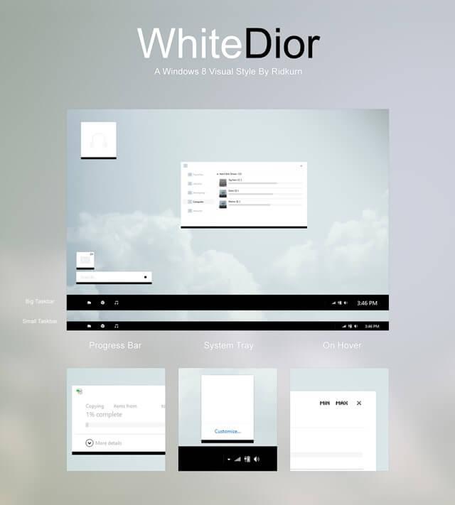 WhiteDior Theme