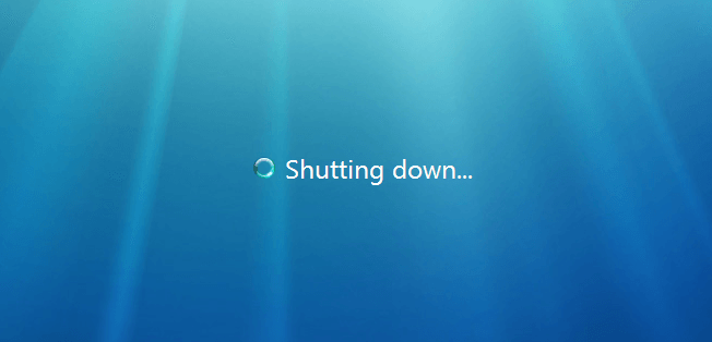 Shutdown Computer Windows 7