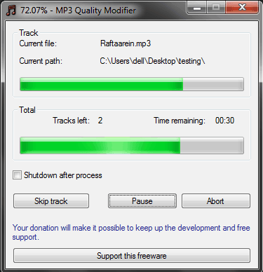 how to compress mp3 files