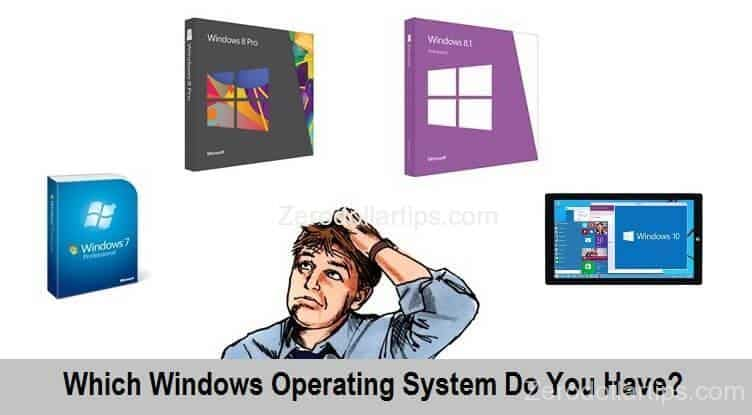how to find which version of windows installed on system