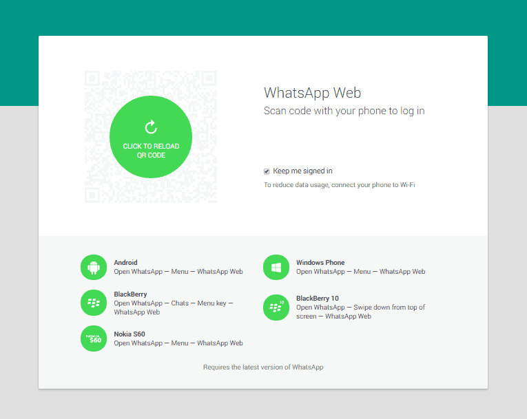 how to use whatsapp on desktop with google chrome
