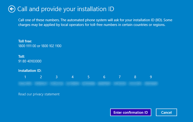 windows 8.1 activation error 0xc004f074