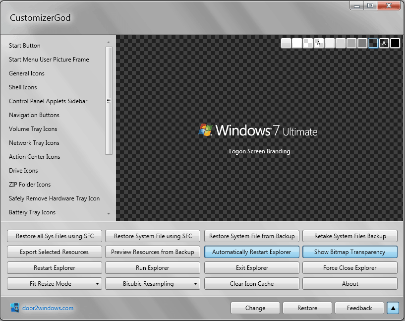 windows customization software