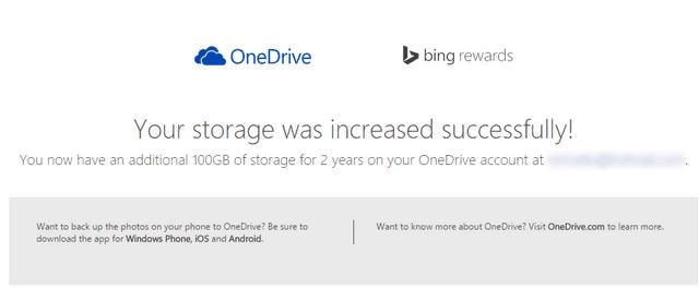 get free onedrive storage