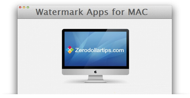 best watermark apps to watermark images on mac