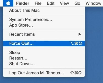 force quit