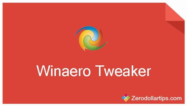 winaero tweaker