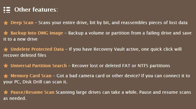 disk drill: free data recovery software for windows