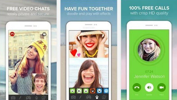 download free video calling apps for android
