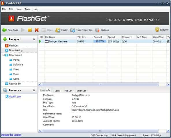 download flash get download manager