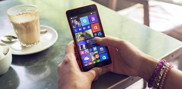 how to take a screenshot on microsoft lumia 535