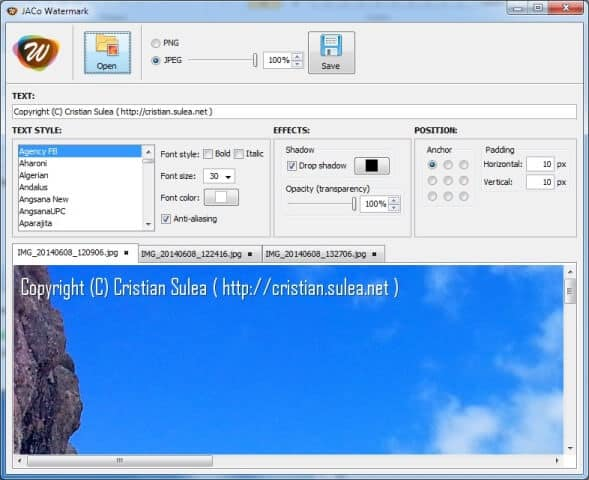 39 Best Free Software To Watermark Photos For Windows