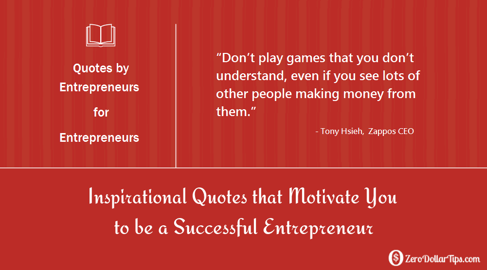 inspirational quotes that motivate you to be a successful entrepreneur