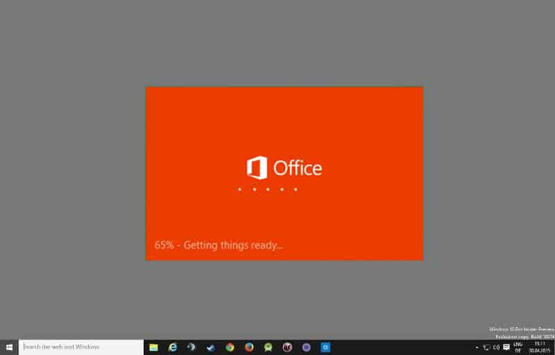 microsoft office 2016 for pc setup