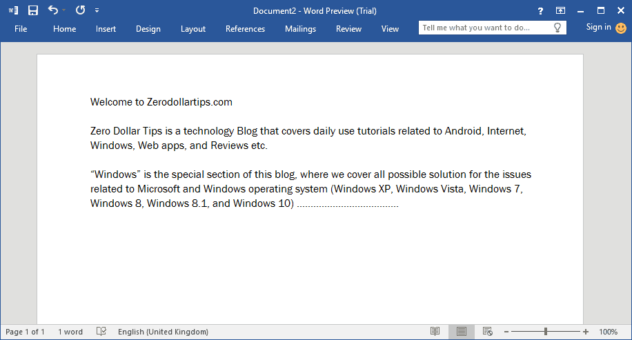 microsoft word 2016 windows 10 free download