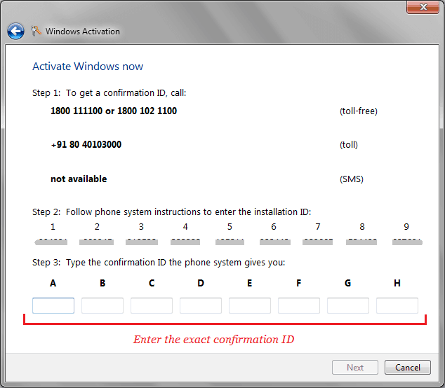 windows 7 activation error