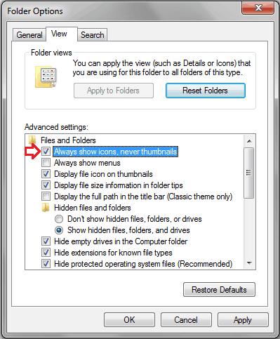 windows explorer has stopped working error