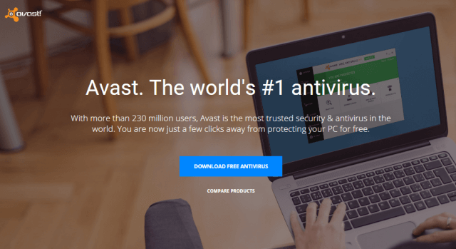 avast free antivirus software