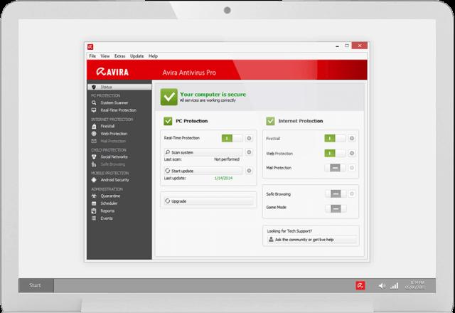 avira free antivirus software