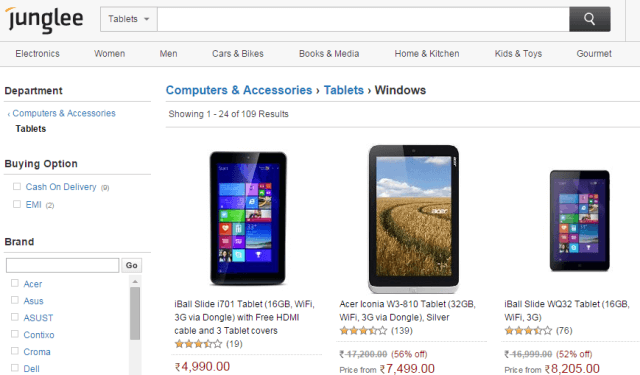 Best Websites to Compare Prices of Mobiles, Laptops, Tablets | Zero ...