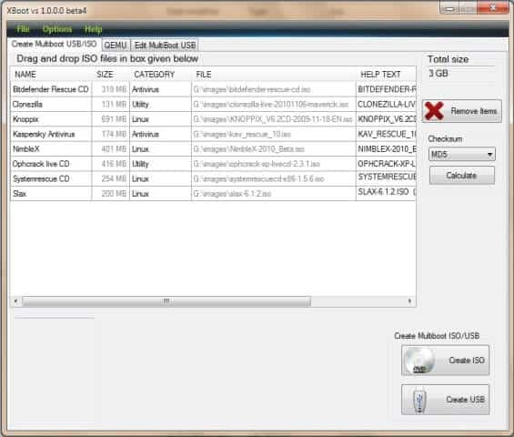 bootable usb creator software