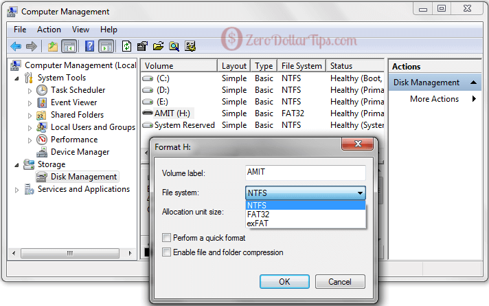 windows was unable to complete the format usb