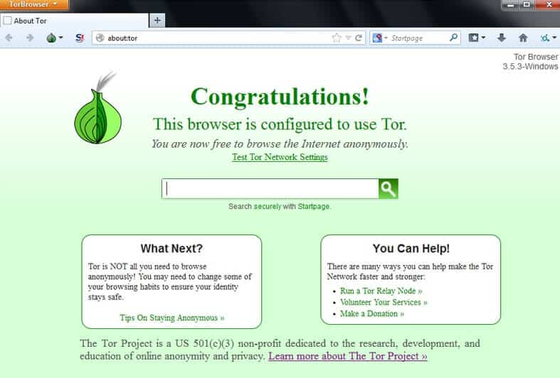 access blocked websites using tor browser