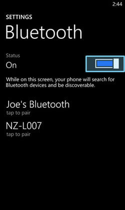 transfer contacts from android to windows phone