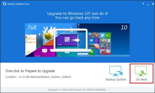 downgrade from windows 10 to windows 7