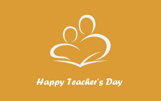 Happy teachers day message